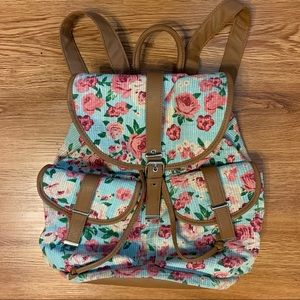 MUDD Floral Backpack
